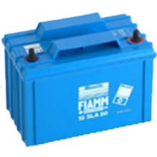 FIAMM 12 SLA 50 (Фиамм 12SLA50) - Аккумуляторная батарея 12В (12V) | 50 Ач (50 Ah) / Аккумулятор / Батарея / АКБ / Купить / Цена / Стоимость