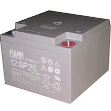 Аккумулятор для ИБП 12 В | 26 Ач / Аккумуляторная батарея 12В / АКБ FIAMM 12SP26 / Купить / Цена / Срок службы 10 лет