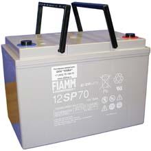 Аккумулятор для ИБП 12 В | 70 Ач / Аккумуляторная батарея 12В / АКБ FIAMM 12SP70 / Купить / Цена / Срок службы 10 лет