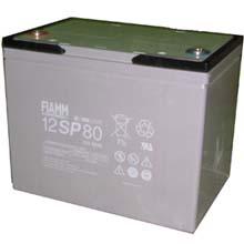 Аккумулятор для ИБП 12 В | 80 Ач / Аккумуляторная батарея 12В / АКБ FIAMM 12SP80 / Купить / Цена / Срок службы 10 лет