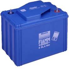 FIAMM 6 SLA 160 (Фиамм 6SLA160) - Аккумуляторная батарея 6В (6V) | 160 Ач (160 Ah) / Аккумулятор / Батарея / АКБ / Купить / Цена / Стоимость