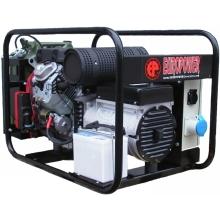 Бензогенератор 8 кВт (8,8 кВт) | 220В - EUROPOWER EP 10000 E / Электростанция / Электрогенератор / Электрозапуск / Электростартер / Электрический запуск / Запуск от ключа / Продажа / Купить / Цена