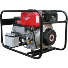 Дизельгенератор 4 кВт однофазный 220В - EUROPOWER EP 6000 DE