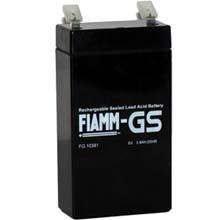 Аккумулятор для ИБП 6 В | 3.8 Ач / Аккумуляторная батарея 6В / АКБ FIAMM FG10381 / Купить / Цена / Срок службы 5 лет