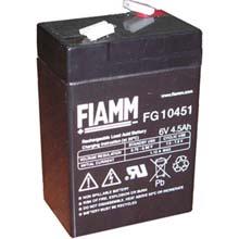 Аккумулятор для ИБП 6 В | 4.5 Ач / Аккумуляторная батарея 6В / АКБ FIAMM FG10451 / Купить / Цена / Срок службы 5 лет