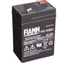 Аккумулятор для ИБП 6 В | 5 Ач / Аккумуляторная батарея 6В / АКБ FIAMM FG10501 / Купить / Цена / Срок службы 5 лет