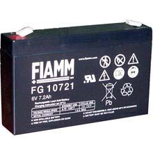 Аккумулятор для ИБП 6 В | 7.2 Ач / Аккумуляторная батарея 6В / АКБ FIAMM FG10721 / Купить / Цена / Срок службы 5 лет
