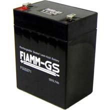 Аккумулятор для ИБП 12 В | 2.7 Ач / Аккумуляторная батарея 12В / АКБ FIAMM FG20271 / Купить / Цена / Срок службы 5 лет