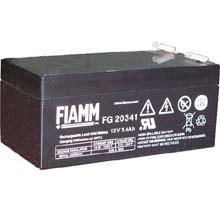 Аккумулятор для ИБП 12 В | 3.4 Ач / Аккумуляторная батарея 12В / АКБ FIAMM FG20341 / Купить / Цена / Срок службы 5 лет