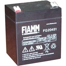 Аккумулятор для ИБП 12 В | 4.5 Ач / Аккумуляторная батарея 12В / АКБ FIAMM FG20451 / Купить / Цена / Срок службы 5 лет