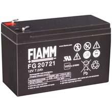 Аккумулятор для ИБП 12 В | 7.2 Ач / Аккумуляторная батарея 12В / АКБ FIAMM FG20721 / Купить / Цена / Срок службы 5 лет