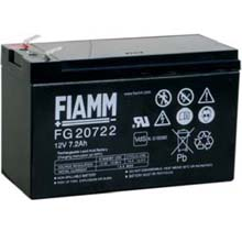 Аккумулятор для ИБП 12 В | 7.2 Ач / Аккумуляторная батарея 12В / АКБ FIAMM FG20722 / Купить / Цена / Срок службы 5 лет