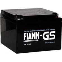 Аккумулятор для ИБП 12 В | 27 Ач / Аккумуляторная батарея 12В / АКБ FIAMM FG22703 / Купить / Цена / Срок службы 5 лет