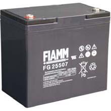 Аккумулятор для ИБП 12 В | 55 Ач / Аккумуляторная батарея 12В / АКБ FIAMM FG25507 / Купить / Цена / Срок службы 5 лет