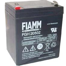 Аккумулятор для ИБП 12 В | 5 Ач / Аккумуляторная батарея 12В / АКБ FIAMM FGH20502 / Купить / Цена / Срок службы 5 лет