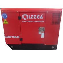 Дизельный генератор в кожухе с автозапуском 10 кВт однофазный / дизельгенератор / электрогенератор / электростанция / миниэлектростанция / купить / цена / LEEGA LDG12LS Auto + АВР
