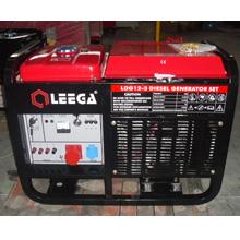 Дизельный генератор с автозапуском 10 кВт однофазный / дизельгенератор / электрогенератор / электростанция / миниэлектростанция / купить / цена / LEEGA LDG12 Auto + АВР