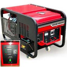 Бензиновый генератор с автозапуском 10 кВт трехфазный / бензогенератор / электрогенератор / электростанция / миниэлектростанция / купить / цена / LEEGA LT11000CLE-3 Auto + АВР