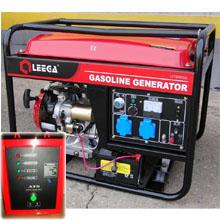 Бензиновый генератор с автозапуском 6 кВт однофазный / бензогенератор / электрогенератор / электростанция / миниэлектростанция / купить / цена / LEEGA LT7500CLE Auto + АВР