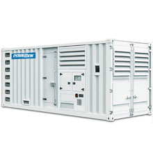 WPS725S (в кожухе) / WPS 725 S (Powerlink / Пауэрлинк / Китай) - Дизельгенератор 580 кВт (580кВт) | 380 В / Трехфазный / Электрогенератор / Дизельная электростанция / Дизельный генератор / ДГУ / ДЭС / Купить / Цена / Стоимость